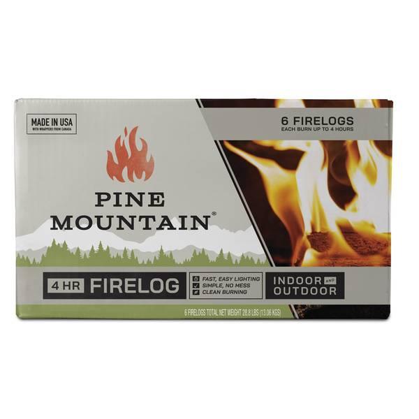 Pine Mountain 4 Hour Classic Fire Logs