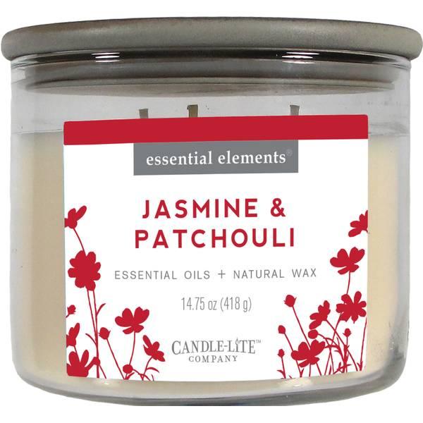 Jasmine & Patchouli 3-Wick Candle