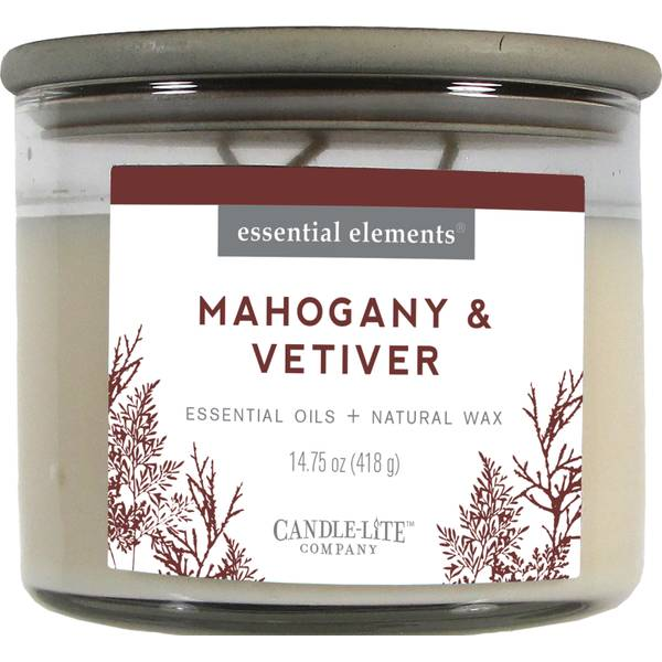 Mahogany & Vetiver 3-Wick Candle