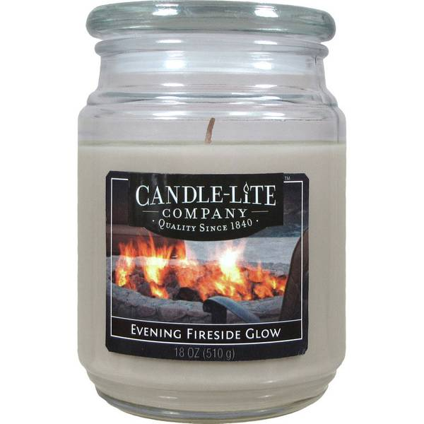 Evening Fireside Glow Candle