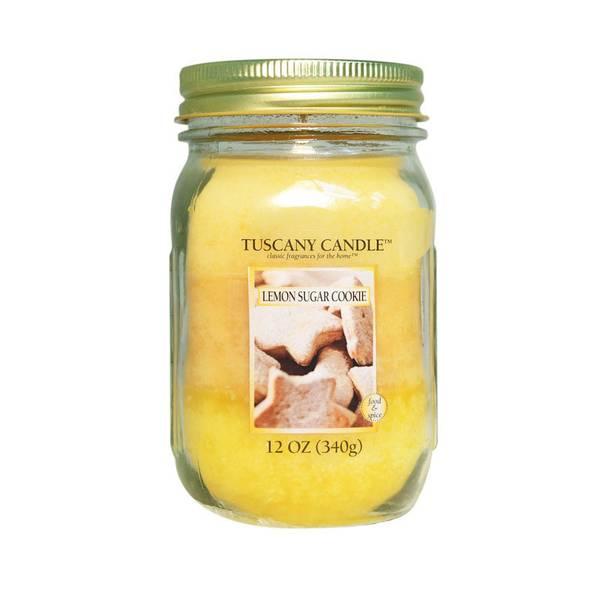 Lemon Sugar Cookie Triple Pour Candle