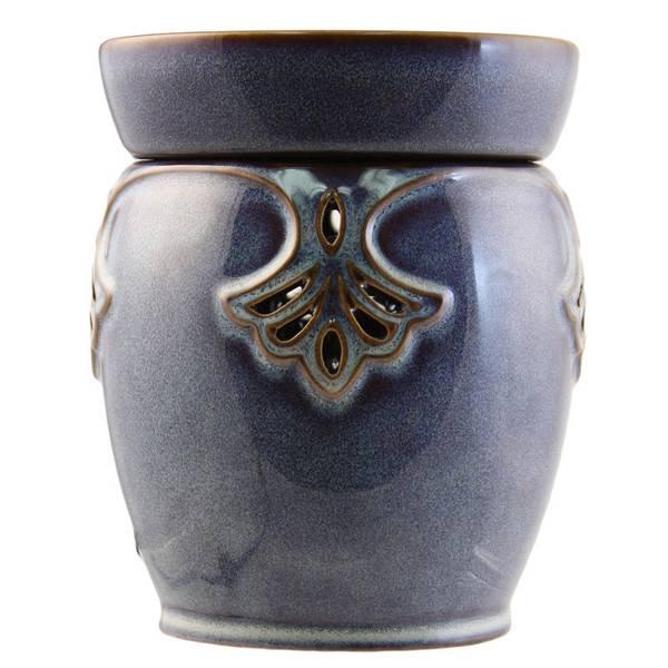 Blue Art Deco Wax Warmer