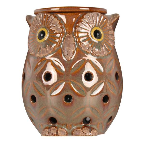 Boulevard Brown Owl Candle Wax Warmer