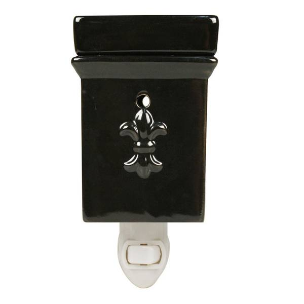 Black Square Outlet Wax Warmer