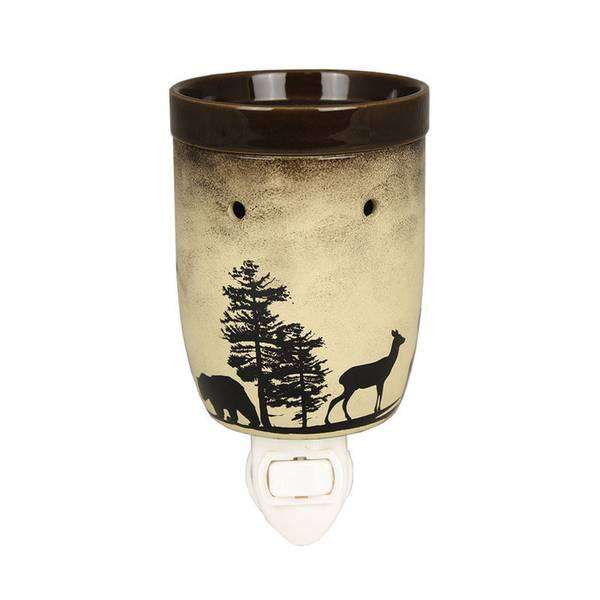 Woodland Scene Outlet Wax Warmer