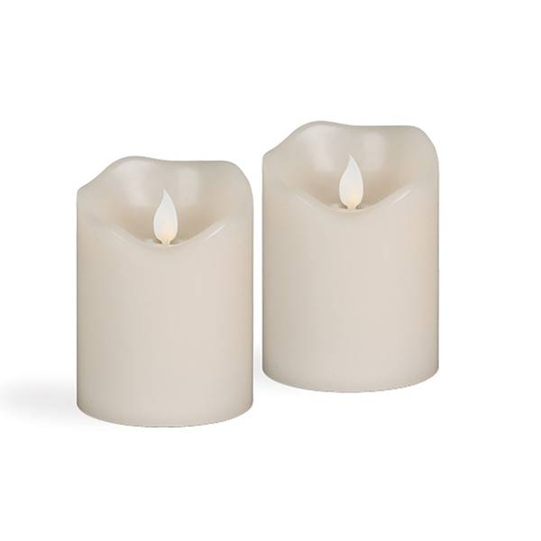 Flameless LED Wax Candle with Timer