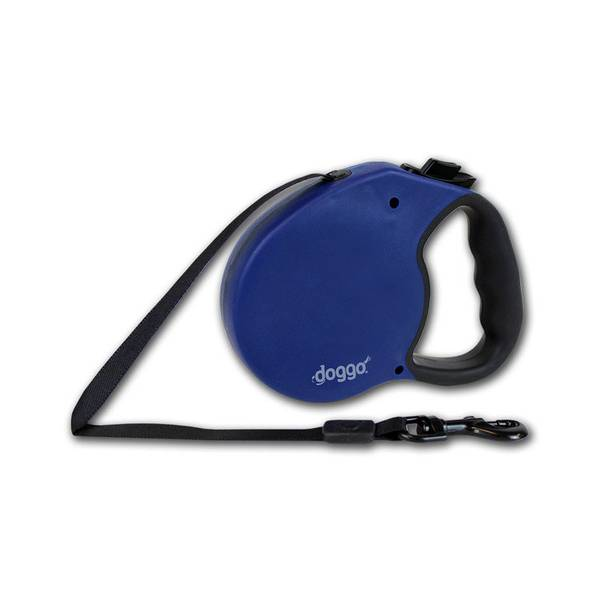 Doggo Blue Everyday Retractable Dog Leash