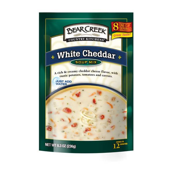 White Cheddar Vegetable Soup Mix