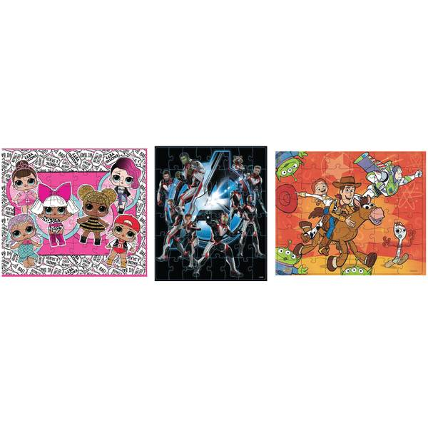 Licensed Puzzle in Tin With Handle Assortment