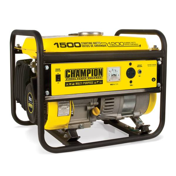 1200-Watt Portable Gas Generator