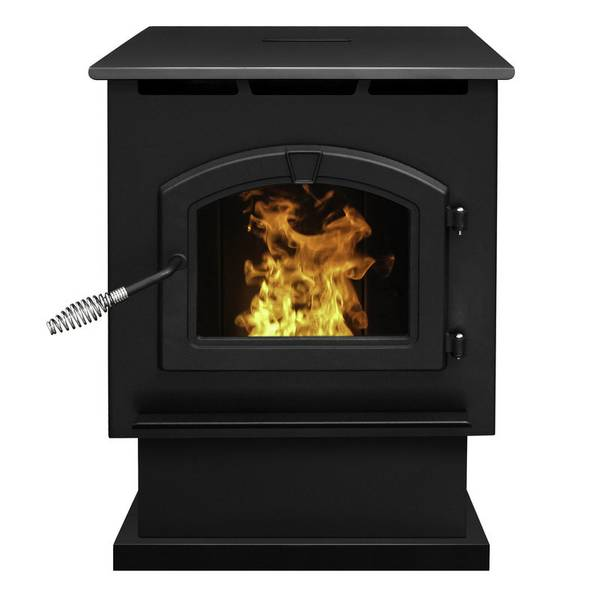 Pellet Stove with LED Comfort Control System