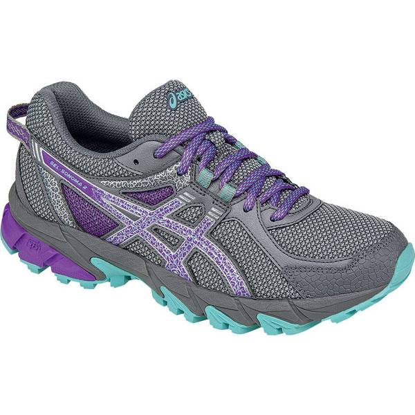 Asics Gel Sonoma Gray Purple Running Shoes