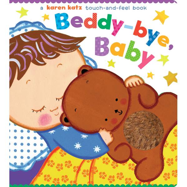 Beddy Bye Baby Touch & Feel Book