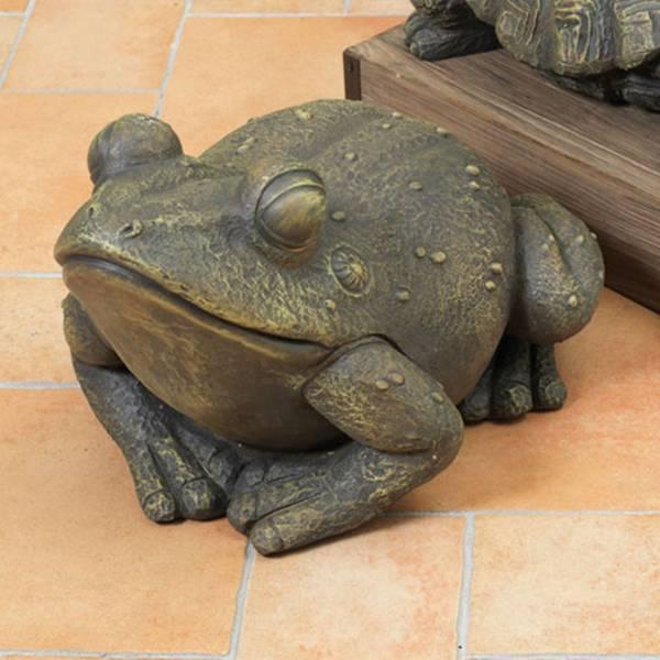 Magnesium Frog Figurine