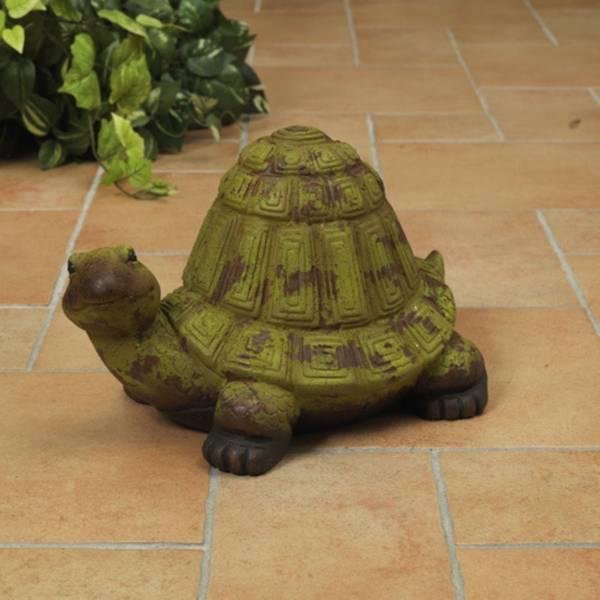 Antique Terra Cotta Turtle Figurine