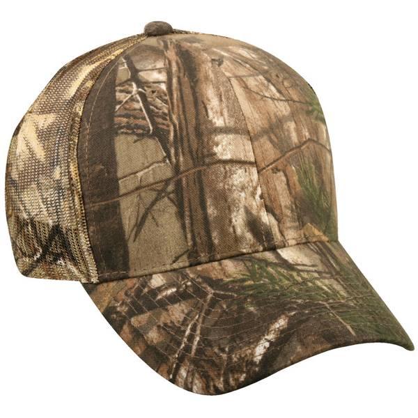 Mossy Oak Men's Meshback Structured Cap