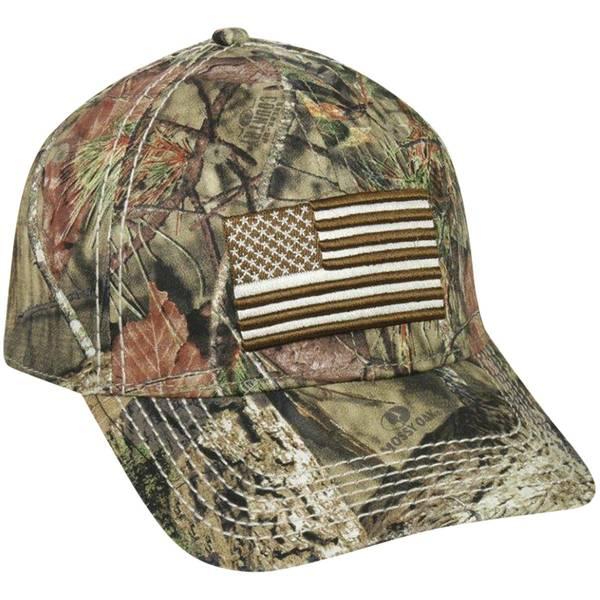 Outdoor Cap Men's Country Camouflage Proflex Flag Cap thumbnail