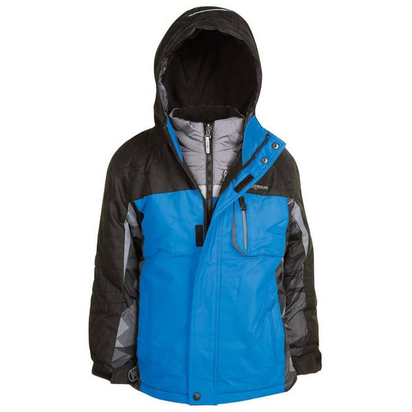 Boy's Sky Diver & Black Icepeak 3-in-1 Systems Jacket