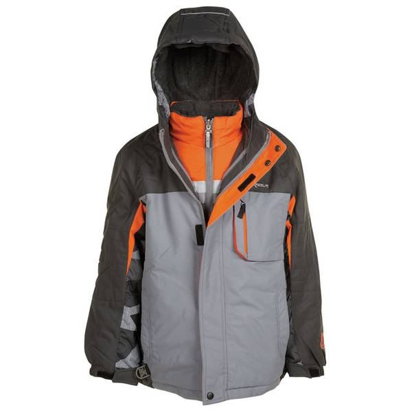 Boy's Iron & Slate Icepeak 3-in-1 Systems Jacket