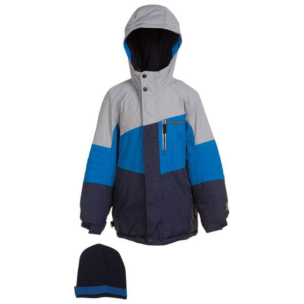 Boy's Metal & Blue Boarder X Snowboard Jacket