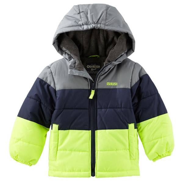 Boy's Neon Heavyweight Jacket