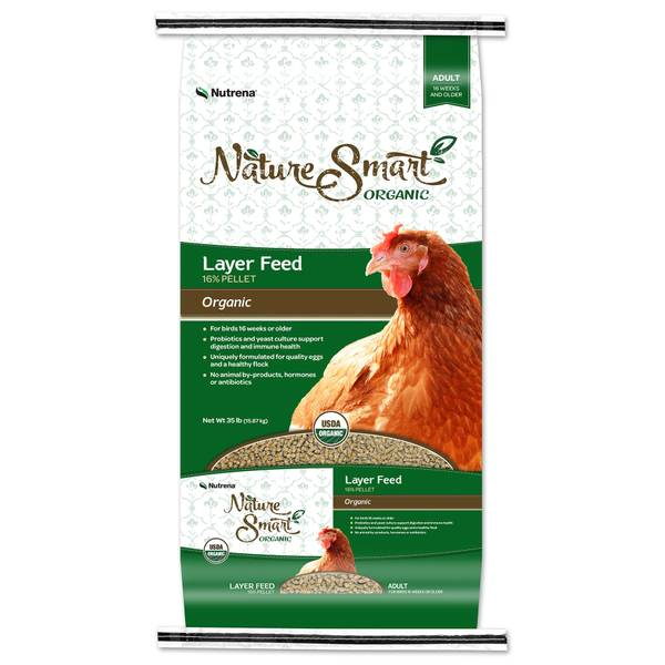 Nature Smart Organic 16% Layer Pellet Feed