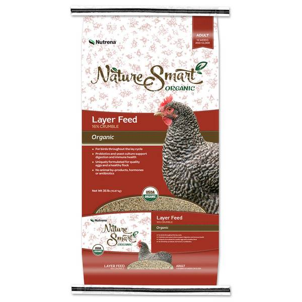 Nature Smart Organic Adult Chicken Layer Feed