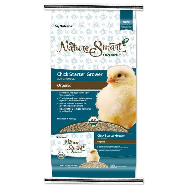 Nature Smart Organic 20% Chick Starter