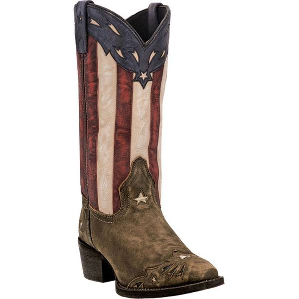 Women's Stars & Stripes Keyes Fashion Western Boots