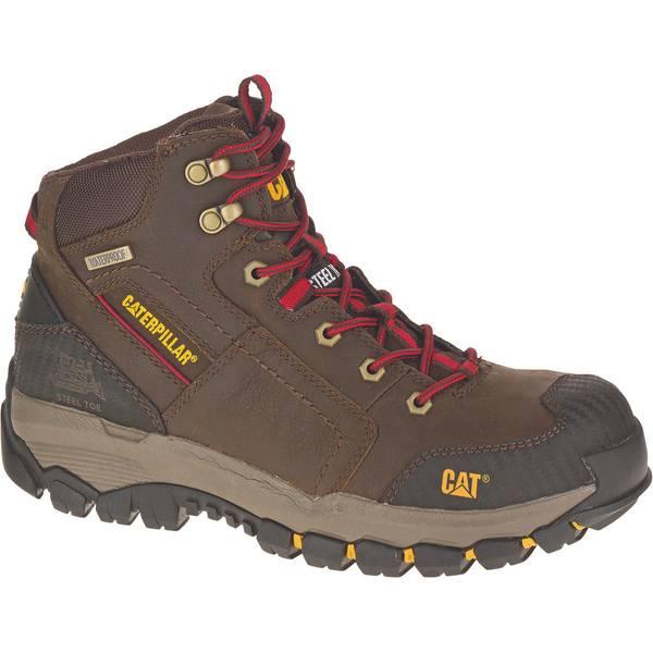 "Men's 6"" Clay Navigator Waterproof Slip-Resistant Soft Toe Work Boots"