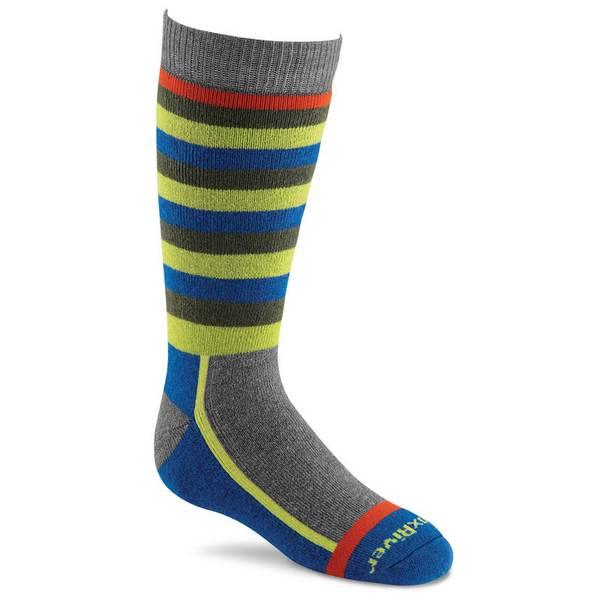 Kids Snow Day Stripe Socks
