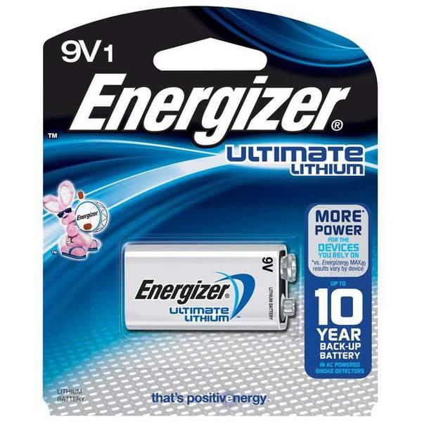 """""""9V"""" Lithium Battery"""
