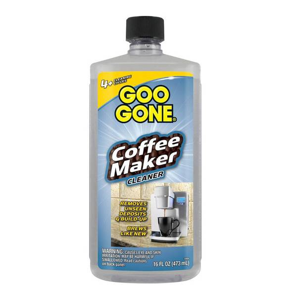 Coffee Maker Cleaner Recipe : Goo Gone Coffee Maker Cleaner