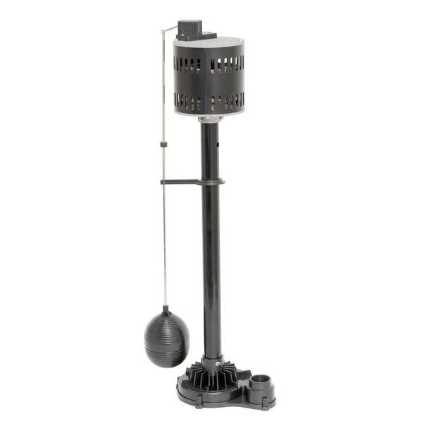 1/3 HP Thermoplastic Pedestal Sump Pump