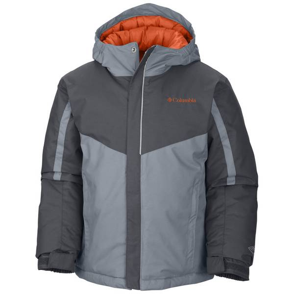 Boy's Tradewinds Gray Stun Run Jacket