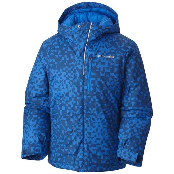 Boy's Marine Blue Lightning Lift Jacket