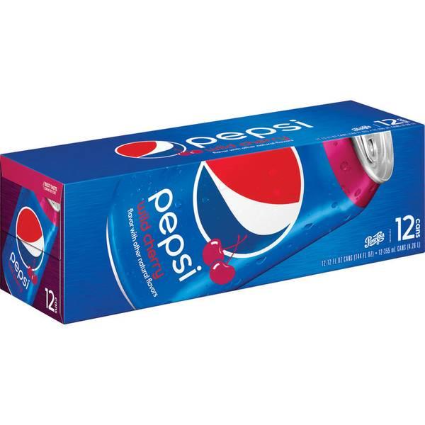 Wild Cherry Pepsi - 12 Pack