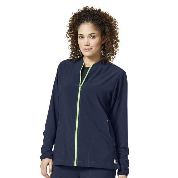 Women's Cross-Flex Knit Mix Scrubs Jacket