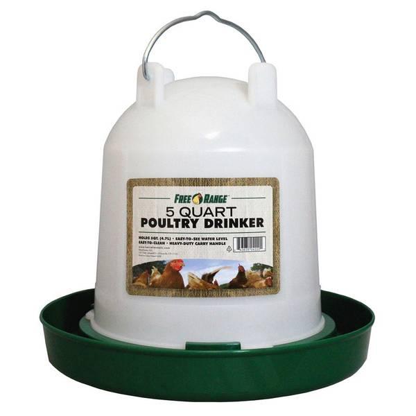 Free Range Poultry Drinker