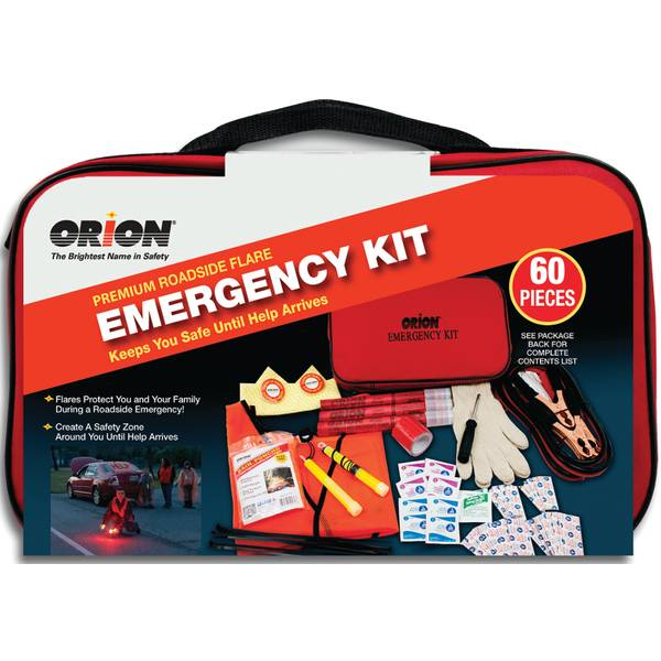 Premium Roadside Flare Emergency Kit