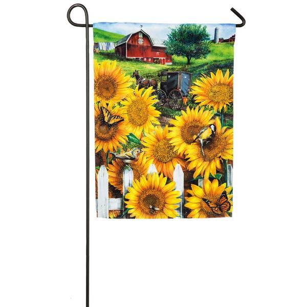 Country Paradise Garden Flag