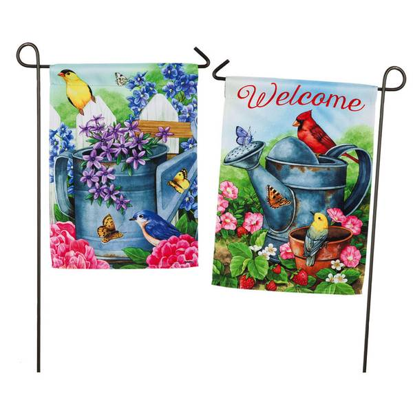Gardening Traditions Double Sided Garden Flag