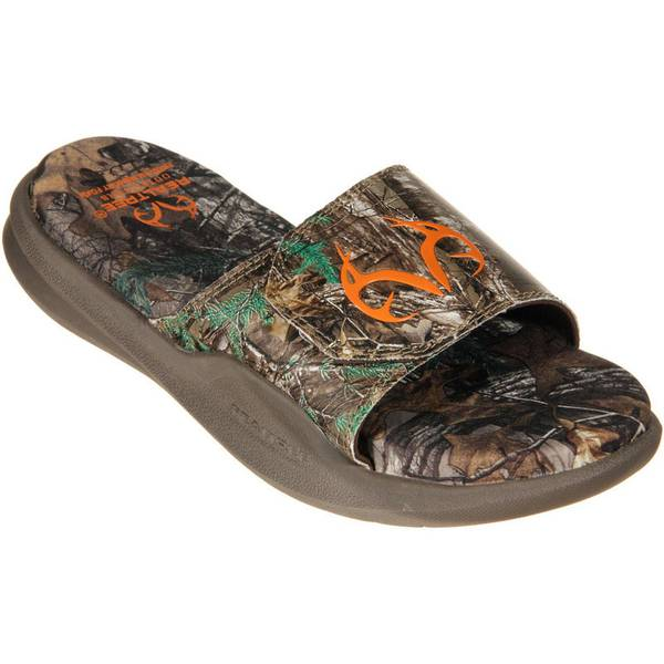 Realtree Outfitters Men S Camo Zack Slide Sandals At Blain S Farm Amp Fleet
