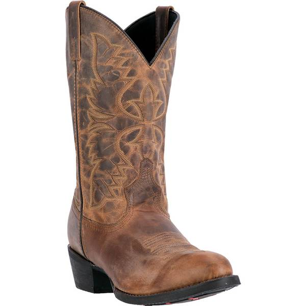 "Men's Tan 12"" Birchwood Western Boots"