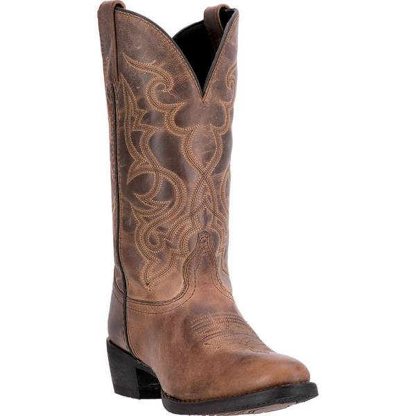 "Women's  11"" Maddie Distressed Western Boots"