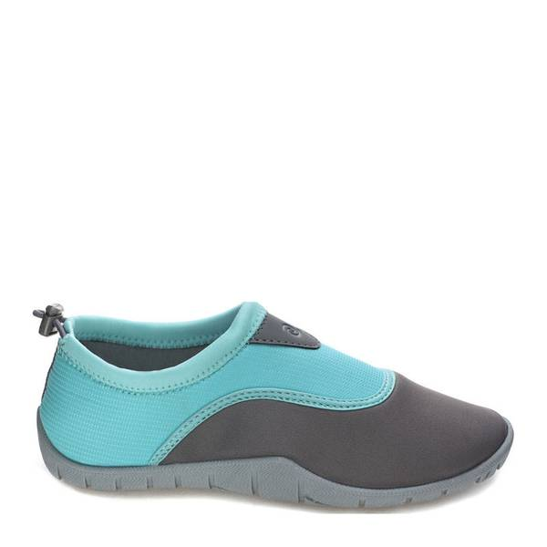 Women's Aqua & Gray Hilo Aqua Socks