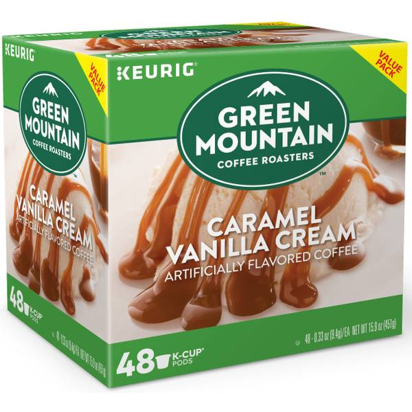 Caramel Vanilla Cream K-Cups