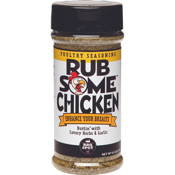 Rub Your Chicken Poultry Seasoning