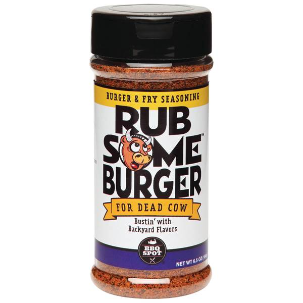 Rub Your Burger Burger & Fry Spice