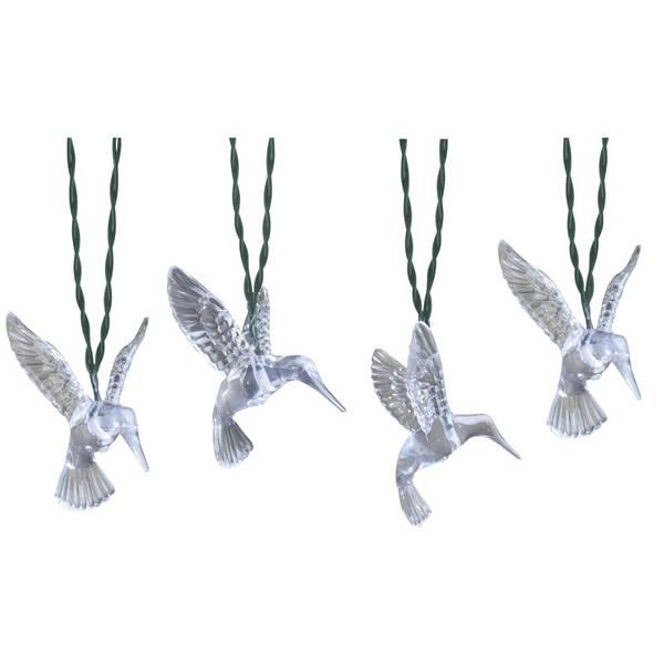 Solar Hummingbird String Lights